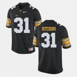 Iowa Hawkeyes Anthony Hitchens Jersey #31 For Men Alumni Football Game Black