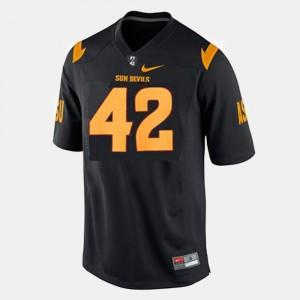 Arizona State Sun Devils Pat Tillman Jersey #42 Mens Black College Football
