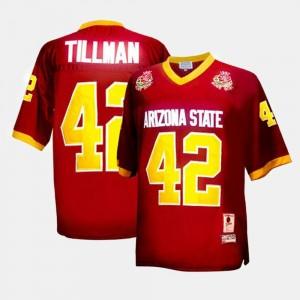 Arizona State Sun Devils Pat Tillman Jersey College Football For Men's #42 Red