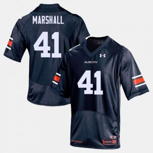 Auburn Tigers Aidan Marshall Jersey #41 Mens Navy College Football