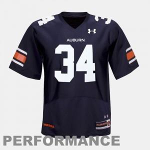 Auburn Tigers Bo Jackson Jersey Blue College Football #34 For Kids