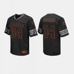 Auburn Tigers Jersey #34 Mens Black College Football