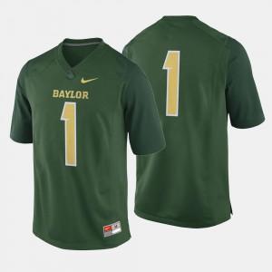 Baylor Bears Jersey College Football Men Green #1