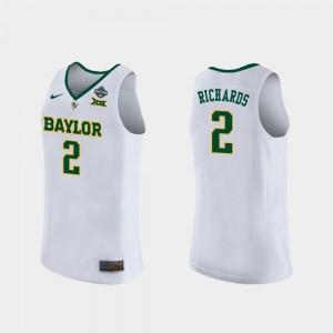 Baylor Bears DiDi Richards Jersey #2 2019 NCAA Women's Basketball Champions White Women