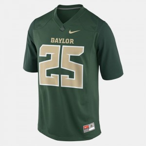 Baylor Bears Lache Seastrunk Jersey #25 Green College Football For Men's