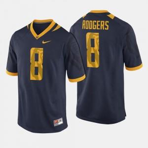 California Golden Bears Aaron Rodgers Jersey Navy Mens #8 College Football