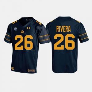 California Golden Bears Bug Rivera Jersey Navy Men's College Football #26