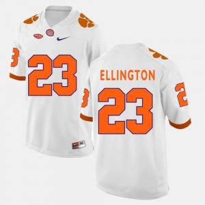 Clemson Tigers Andre Ellington Jersey White #23 College Football Men