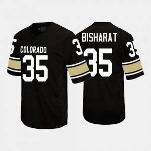 Colorado Buffaloes Beau Bisharat Jersey Black College Football For Men's #35