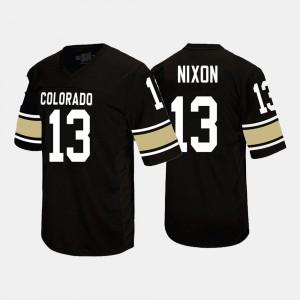 Colorado Buffaloes K.D. Nixon Jersey Black For Men's #13 College Football