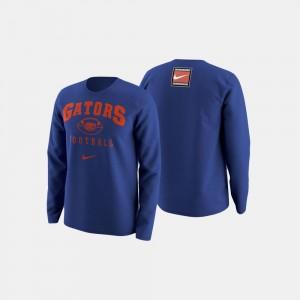 Florida Gators Sweater For Men Royal Blue College Football Retro Pack