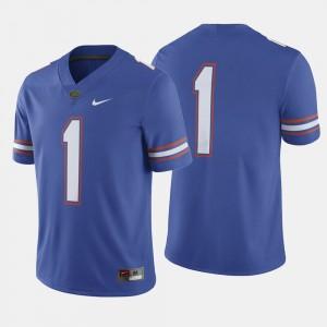 Florida Gators Jersey College Football For Men Royal Blue #1