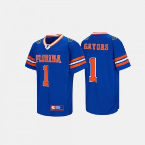 Florida Gators Jersey #1 Hail Mary II Royal Blue Mens