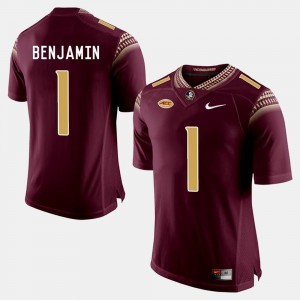 Florida State Seminoles BKelvin Benjamin Jersey Garnet College Football #1 Men's
