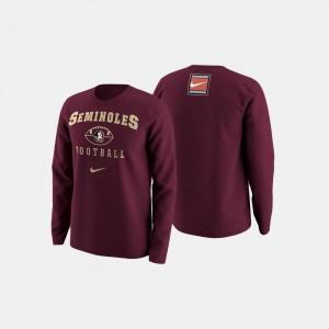 Florida State Seminoles Sweater Garnet College Football Retro Pack Men's
