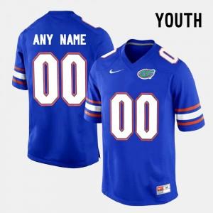 Florida State Seminoles Customized Jerseys Kids College Limited Football #00 Blue