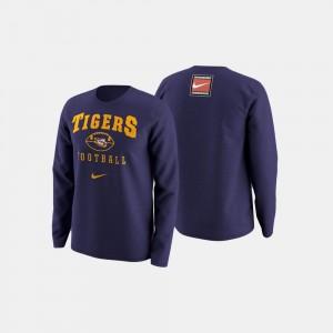 LSU Tigers Sweater College Football Retro Pack Men Purple