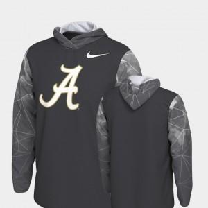 Alabama Crimson Tide Hoodie 2018 College Football Playoff Bound Mens Anthracite Team Issue