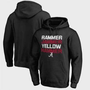 Alabama Crimson Tide Hoodie Black Hometown Collection Rammer Jammer Fanatics For Men's Bowl Game