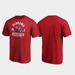 Alabama Crimson Tide T-Shirt Crimson Men's 2020 Citrus Bowl Bound Spike
