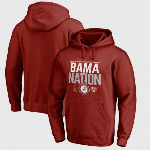 Alabama Crimson Tide Hoodie College Football Playoff 2018 Sugar Bowl Bound Delay For Men Bowl Game Crimson