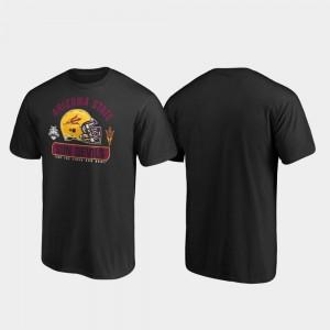 Arizona State Sun Devils T-Shirt Black Spike Men 2019 Sun Bowl Bound
