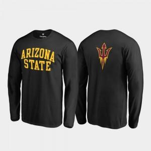 Arizona State Sun Devils T-Shirt Primetime Black Long Sleeve Men's
