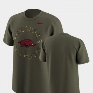 Arkansas Razorbacks T-Shirt Legend Camo Olive Men's