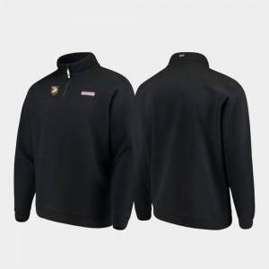 Army Black Knights Jacket Quarter-Zip Men's Shep Shirt Black