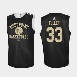 Army Black Knights Cam Fuller Jersey Practice Black Men College Basketball #33