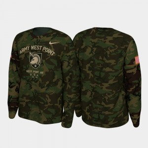 Army Black Knights T-Shirt 2019 Veterans Day For Men's Legend Long Sleeve Camo