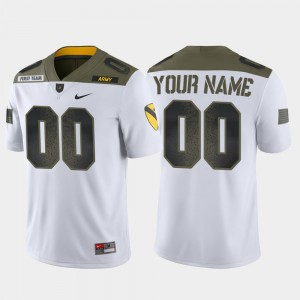 Army Black Knights Custom Jerseys Limited Edition White 1st Cavalry Division For Men's #00