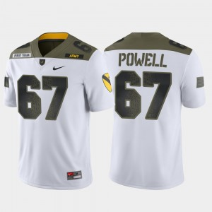 Army Black Knights Dean Powell Jersey Limited Edition #67 1st Cavalry Division White Men