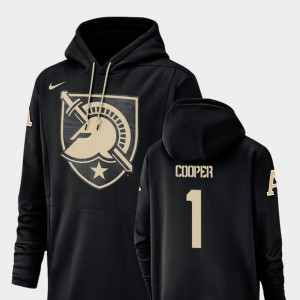 Army Black Knights Fred Cooper Hoodie #1 Mens Champ Drive Black Football Performance
