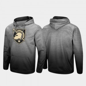 Army Black Knights Hoodie Heathered Gray Men Pullover Sitwell Sublimated