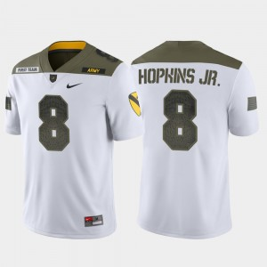 Army Black Knights Kelvin Hopkins Jr. Jersey 1st Cavalry Division White Limited Edition Men's #8