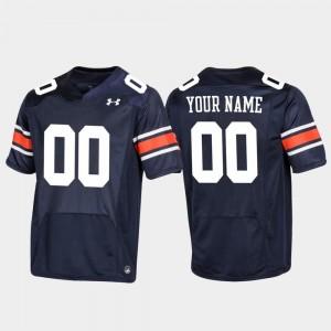 Auburn Tigers Custom Jersey For Men Replica Navy Football #00