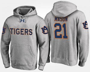 Auburn Tigers Tre Mason Hoodie Men's #21 Gray