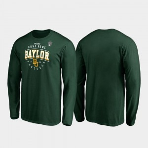 Baylor Bears T-Shirt Green 2020 Sugar Bowl Bound Tackle Long Sleeve Men