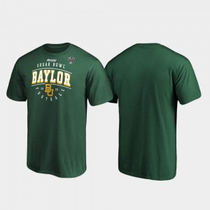 Baylor Bears T-Shirt Men's Tackle 2020 Sugar Bowl Bound Green