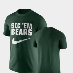 Baylor Bears T-Shirt For Men's Green Legend Franchise Performance