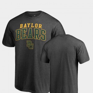 Baylor Bears T-Shirt Square Up Heathered Charcoal Men