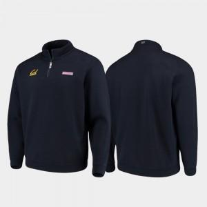 California Golden Bears Jacket Navy Shep Shirt Quarter-Zip Men