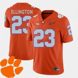 Clemson Tigers Andre Ellington Jersey #23 2018 ACC College Football Orange Men