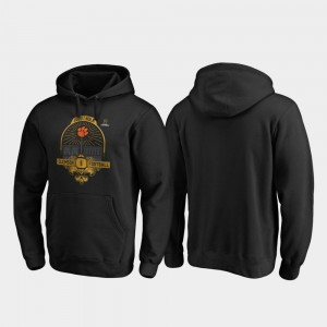 Clemson Tigers Hoodie Black 2020 National Championship Bound Mens College Football Playoff French Quarter