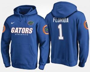 Florida Gators Hoodie No.1 For Men's Blue #1