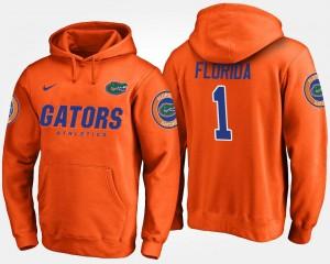 Florida Gators Hoodie For Men Orange No.1 #1