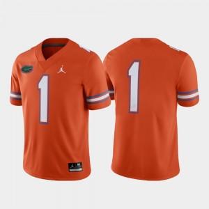 Florida Gators Jersey Orange Game #1 Alternate Men's
