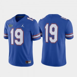 Florida Gators Jersey Football Limited Royal For Men's #19