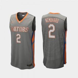 Florida Gators Andrew Nembhard Jersey Replica #2 Mens College Basketball Gray